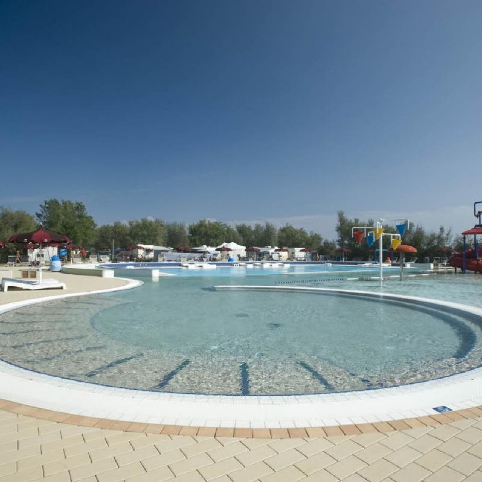 Camping And Hotel Pools