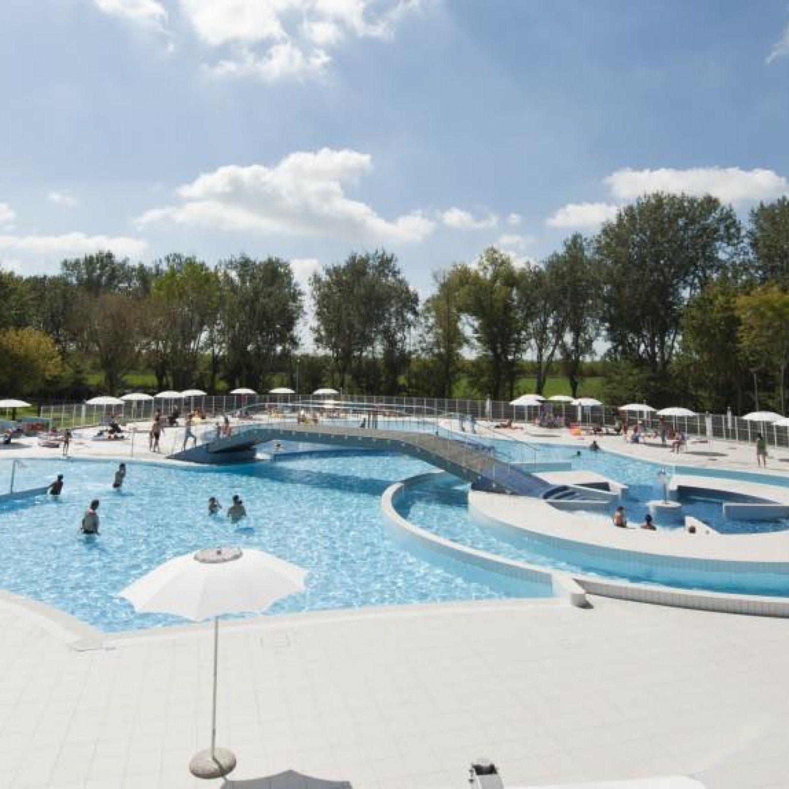 Pool For Camping And Hotel