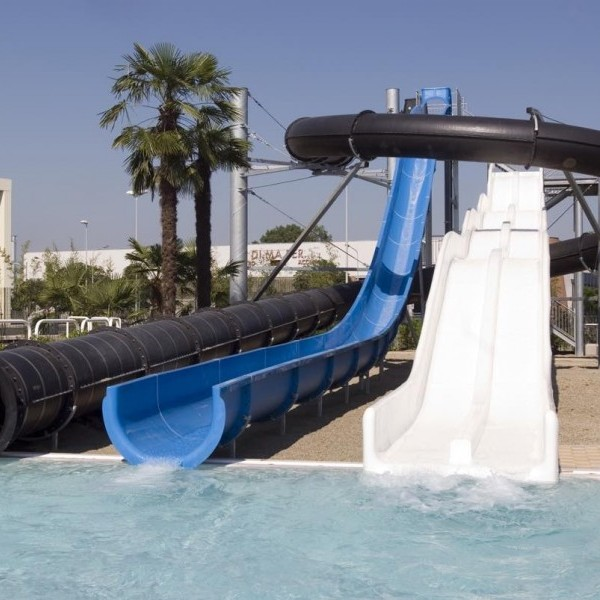 Waterslides For Resort Pool