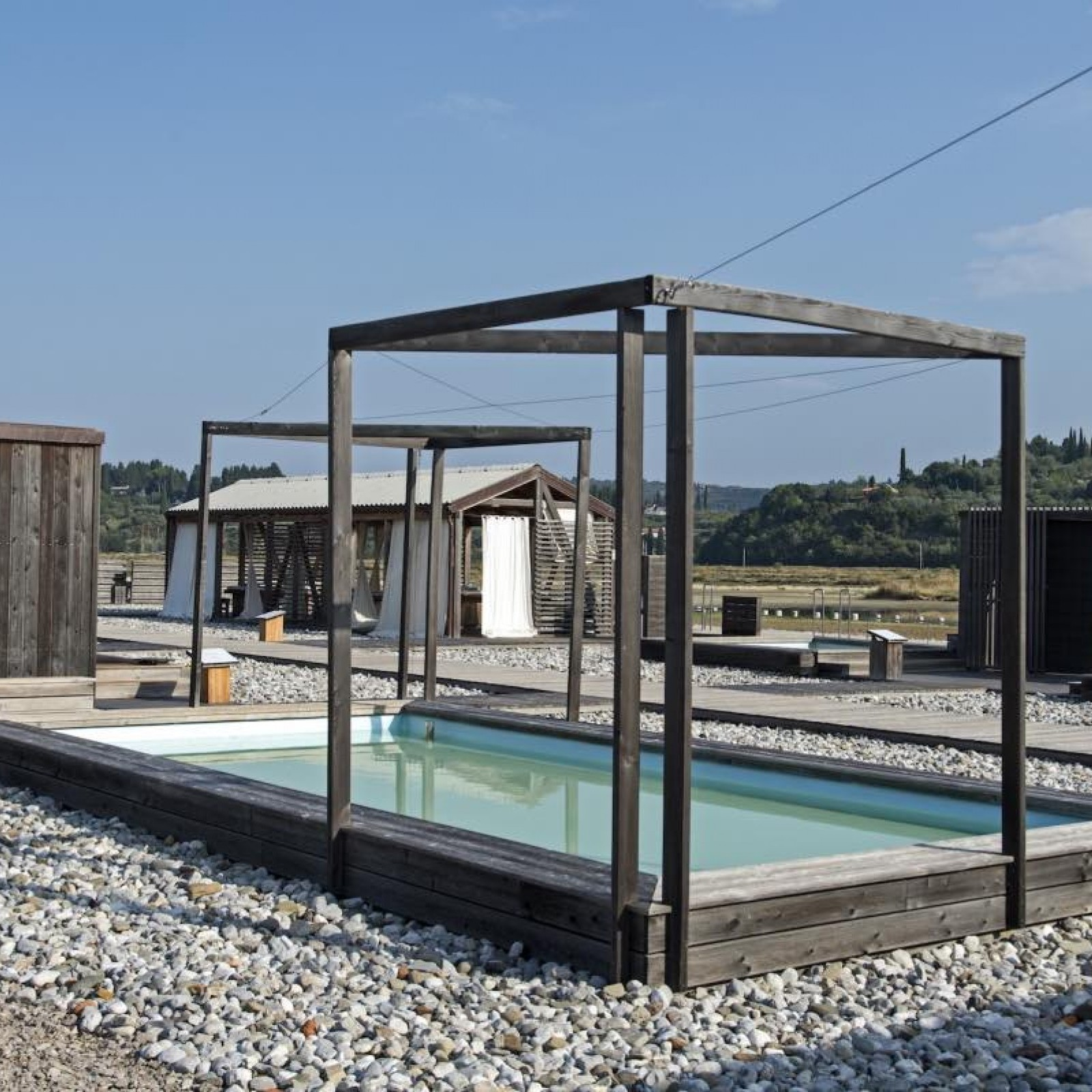 Stainless Steel Modular Pool
