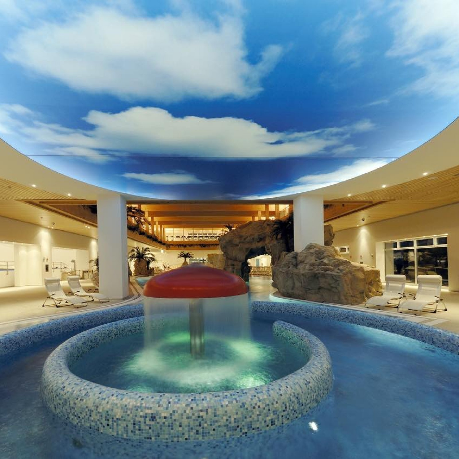 Spa With Fountain